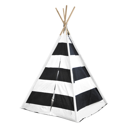 American Kids Awesome Tee-Pee Tent, Rugby Stripe by Idea Nuova