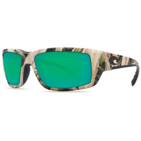 Costa Del Mar TF Fantail Mossy Oak Square Sunglasses Green Lens (Costa Del Mar Fantail Sunglasses)