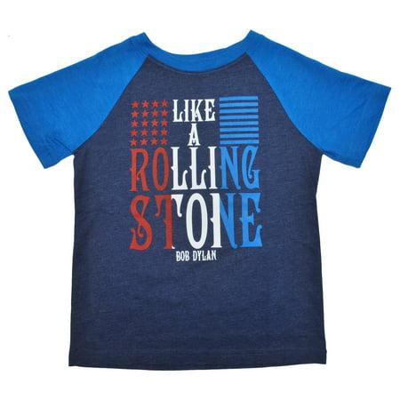Toddler Boys Bob Dylan Rolling Stone T Shirt 4T