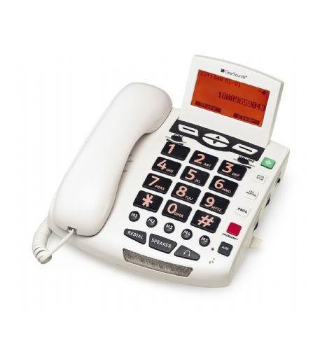 Clearsounds Wcsc600 Amplified Telephone - White
