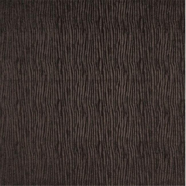 Designer Fabrics G798 54 in. Wide Sepia Brown, Metallic Textured Lined Upholstery Faux Leather