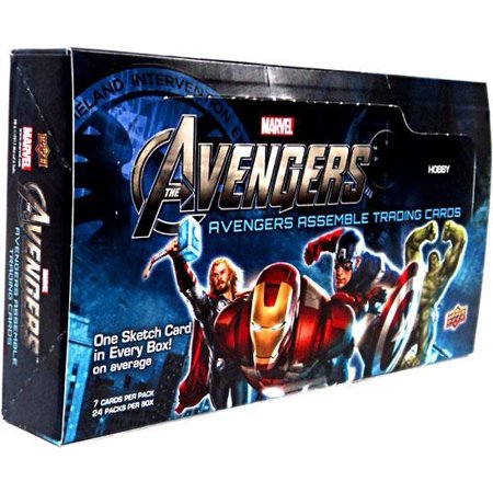 Marvel Avengers Assemble Trading Card Box](Avengers Cards)