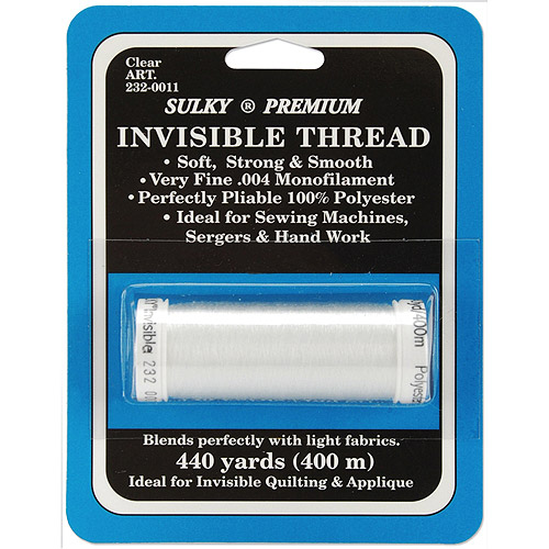 Sulky Premium Invisible Thread, 440 yds