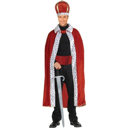 Morris costumes FM61299 King Robe And Crown Adult