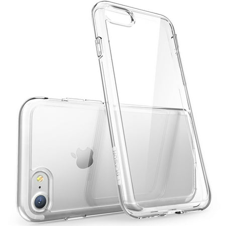 I-Blason Halo Hybrid - Back cover for cell phone - clear - for Apple iPhone 7 (Hydride Cell)