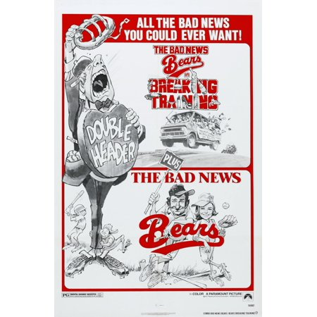 The Bad News Bears 1976 The Bad News Bears In Breaking Training 1977 Canvas Art     24 X 36