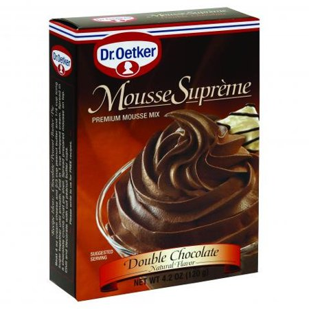 Dr Oetker Double Chocolate Mousse, 4.2 - Jello Mousse