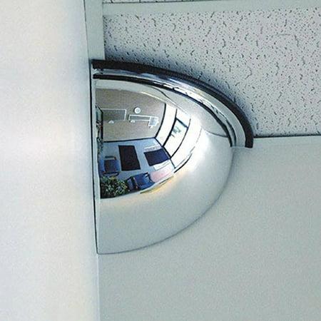 Quarter Dome Acrylic Mirror, 18