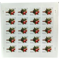 Celebration Boutonniere Sheet of 20 USPS Forever First Class Postage Stamps Wedding Prom Memorial