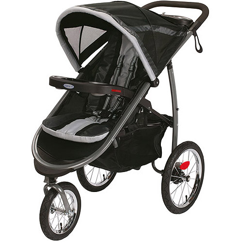 Graco FastAction Fold Jogger Click Connect Jogging Stroller, Gotham