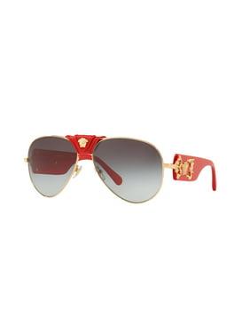 Versace 2150Q Sunglasses 100211 Gold