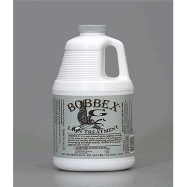 Bobbex B550140 Bobbex-G Lawn Treatment Half Gallon Concentrated Spray