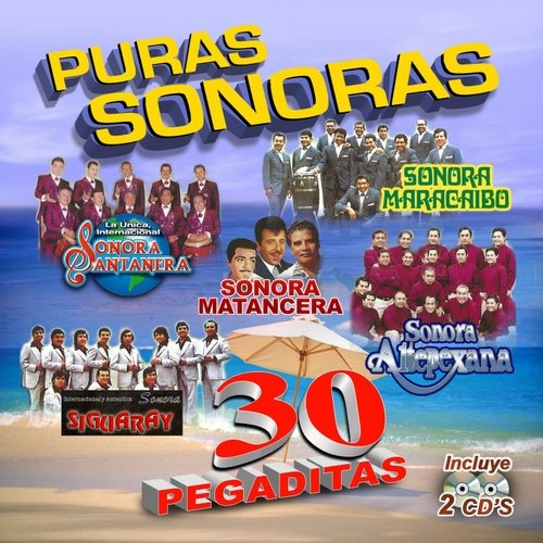 Puras Sonoras 30 Pegaditas (2CD)