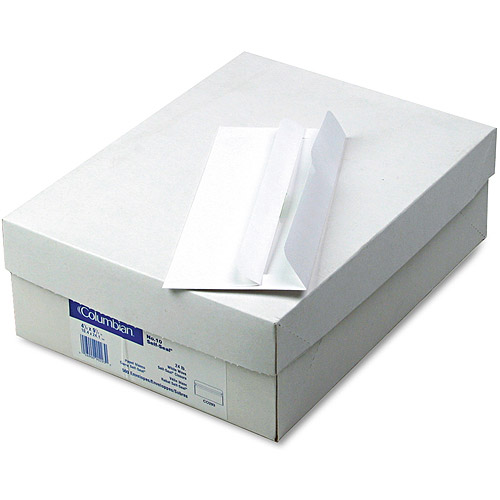 Columbian Self-Seal Business Envelopes, #10, 4-1/8 x 9-1/2, White, 500/Box