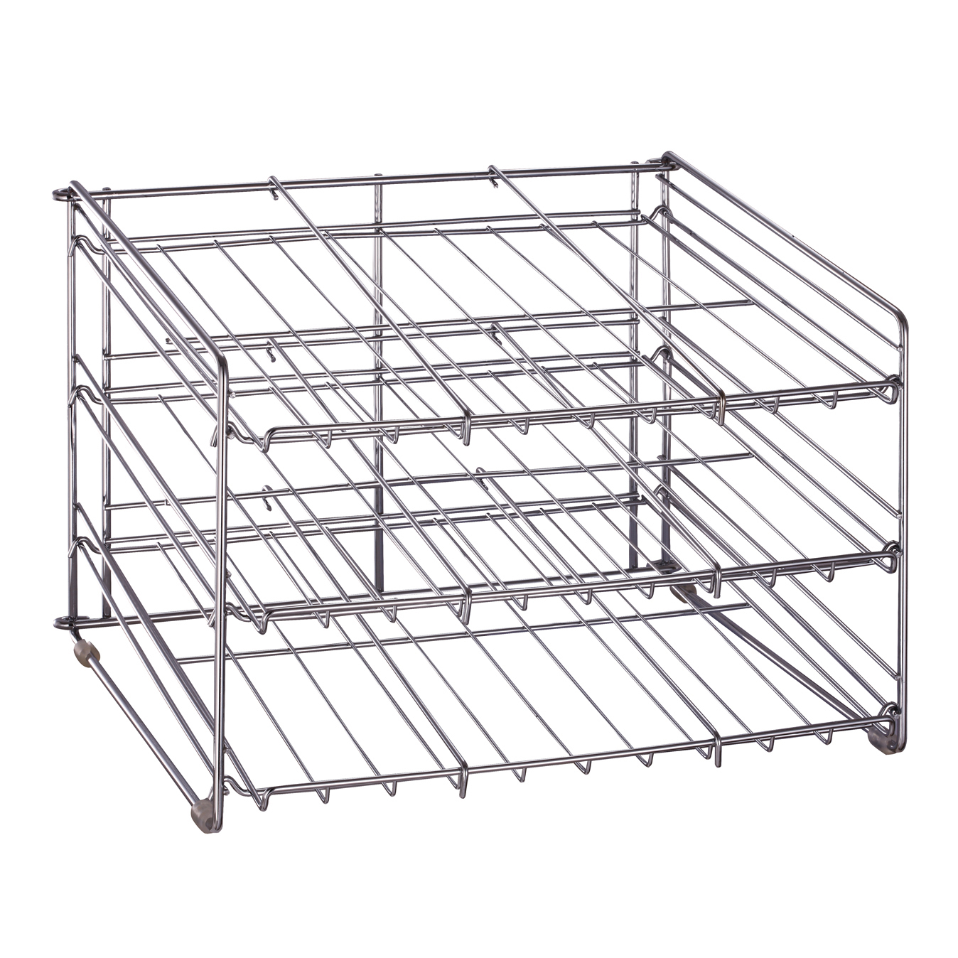 Organize It All 1866 Chrome Can Goods Rack