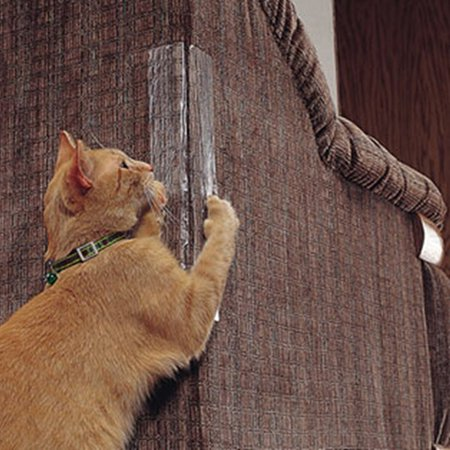 Self-Adhesive Cat Scratching Paster Furniture Protector Guard Pet Toy Claw Care -
