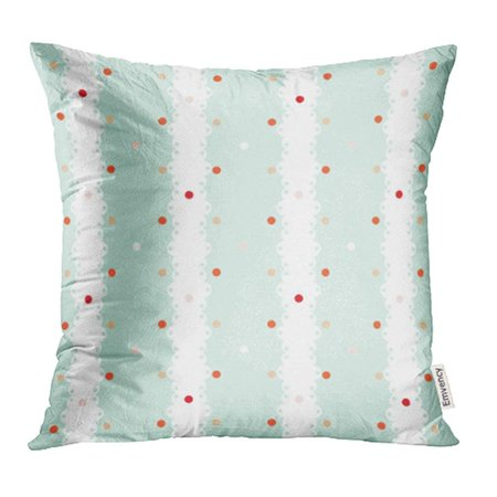 Shabby Chic Baby (ARHOME Blue Abstract Vintage Shabby Chic Style Colorful Baby Boy Checkered Classic Cottage Pillowcase Cushion Cases 16x16 inch )