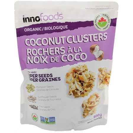 Inno Foods Organic Coconut Clusters With Pumpkin, Chia And Sunflower Seeds 17.64 (Best Way To Eat Chia Seeds For Nutrition)
