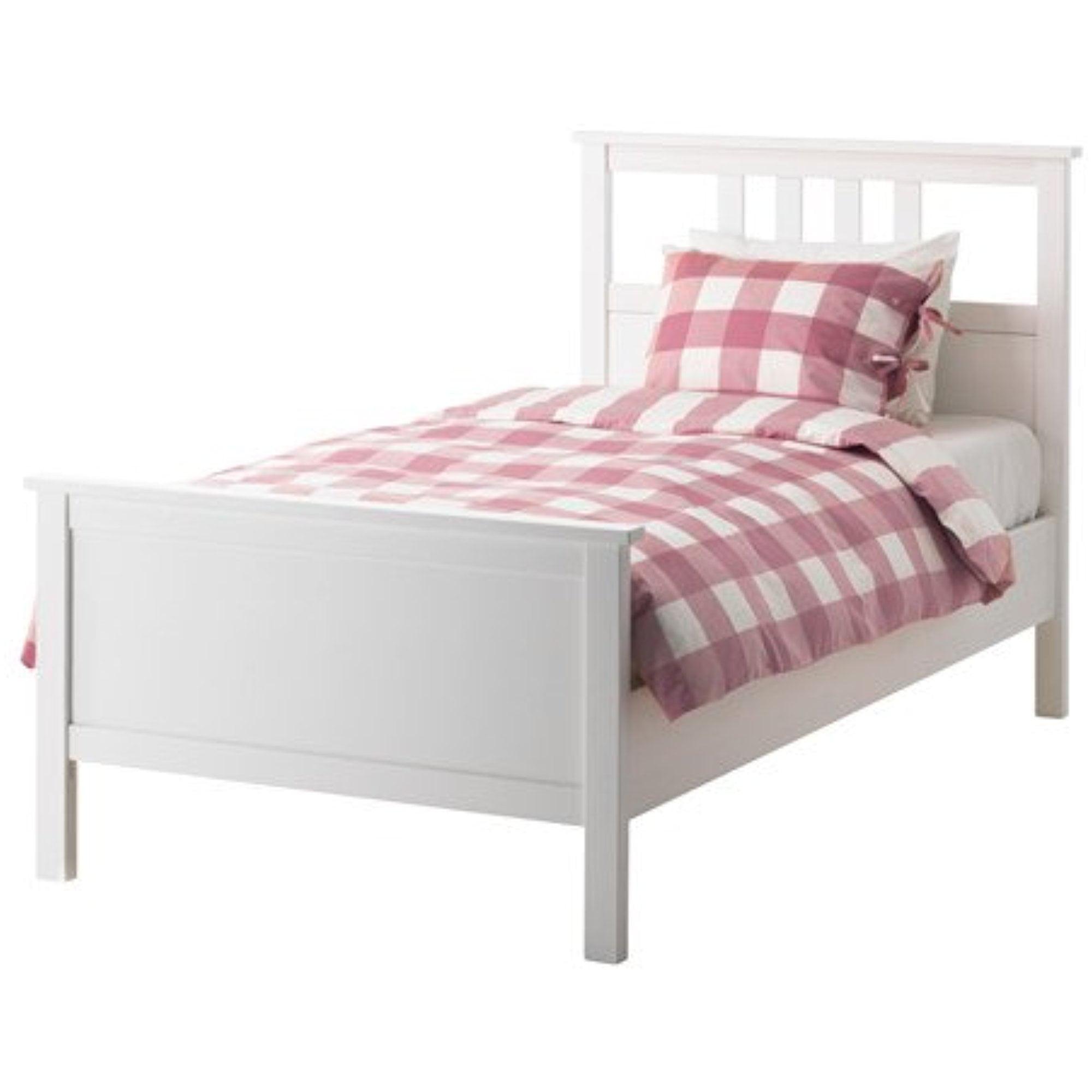 Ikea Twin Size Bed Frame White Stain 18210 142917 142 Walmart Com Walmart Com