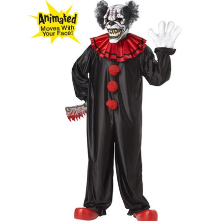 Last Laugh The Clown Costume (Last Laugh the Clown Men's)