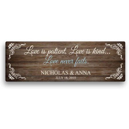 Love Is Patience (Personalized Love Is Patient 6