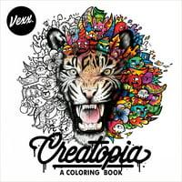 Creatopia : A Coloring Book (Paperback)