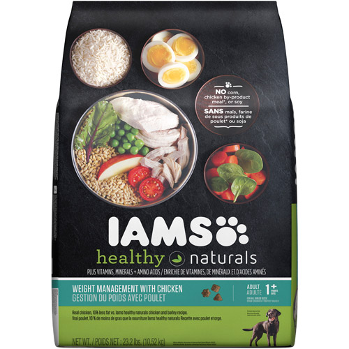 Iams Healthy Naturals Weight Control Dog Food, 23.3 lbs