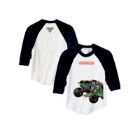 Personalized Monster Jam Grave Digger Boys' Youth Sports Jersey