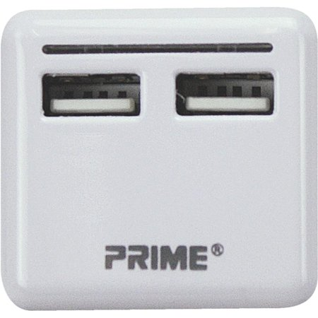 Prime Wire & Cable 2 Port 3.4a Usb Charger (Prime Wire Cable)
