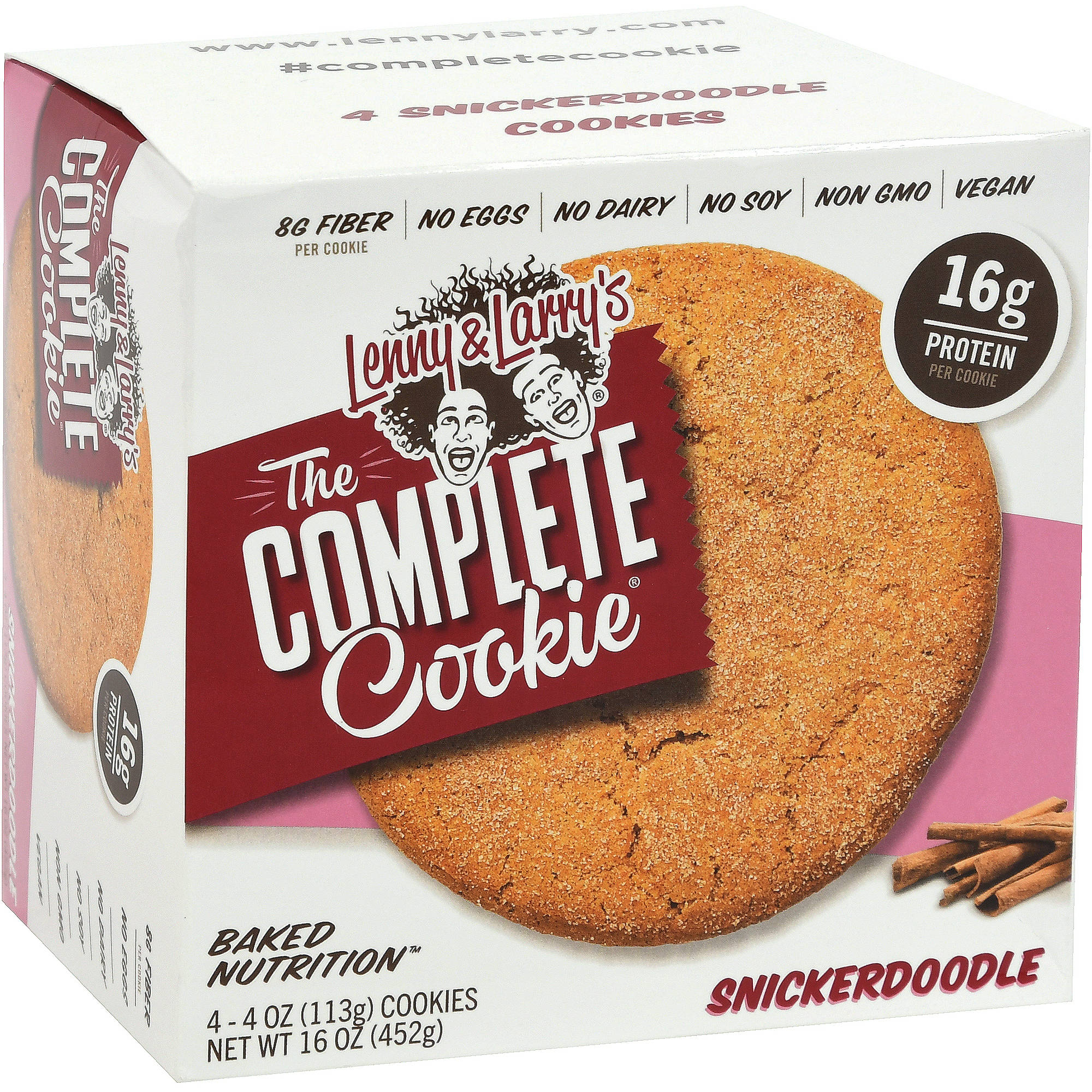 Lenny & Larry's Snickerdoodle Cookie 4-pack