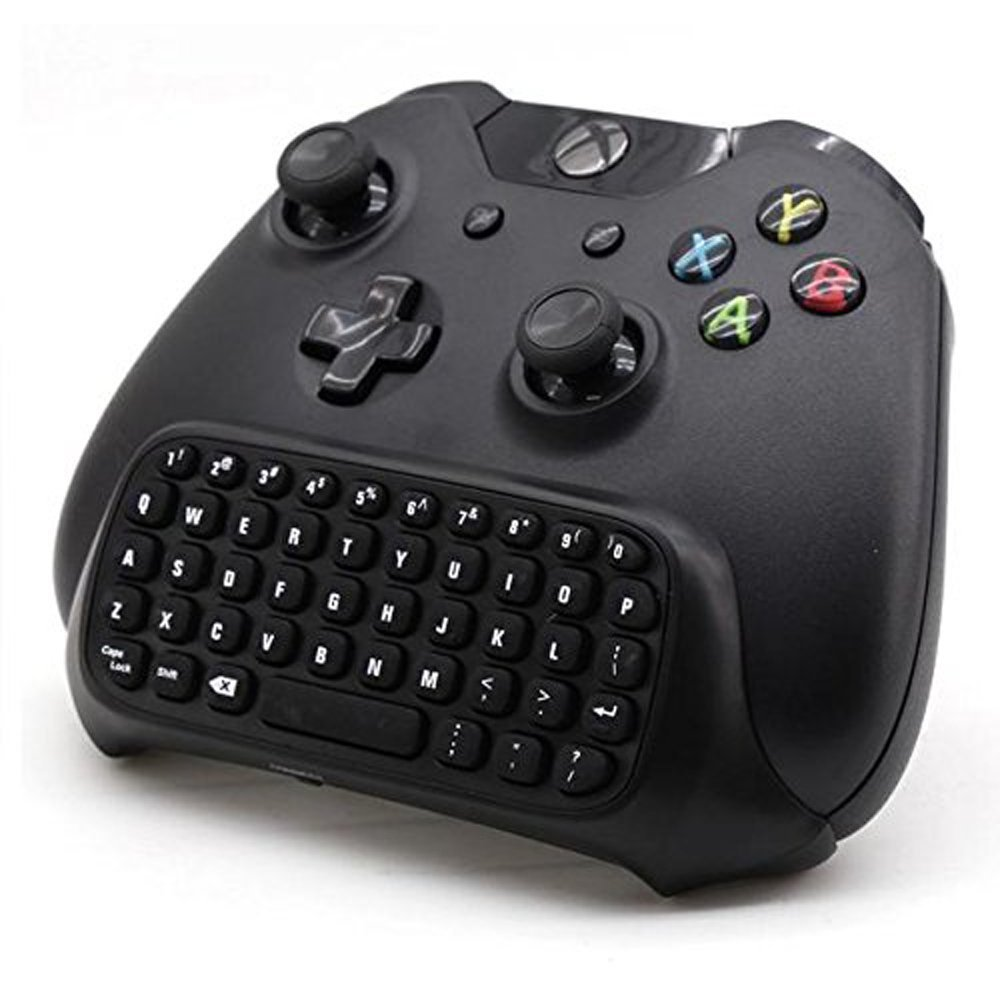 Xbox ONE 2.4G MINI WIRELESS KEYBOARD CHAT PAD w/ 3.5mm Jack - GAMING KEYPAD