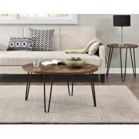 Product Image Ameriwood Home Owen Retro Round Coffee Table Multiple Colors