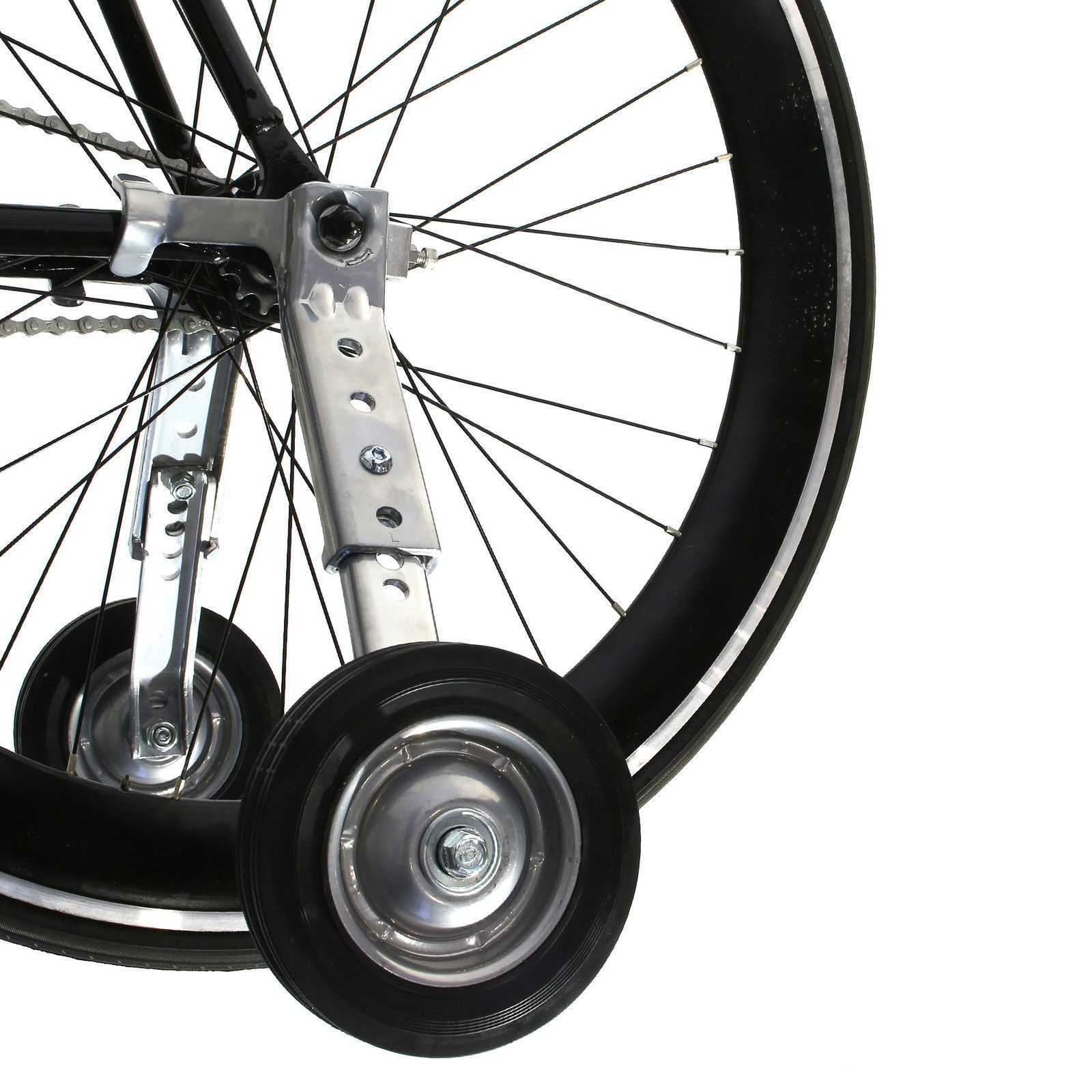 "Cyclingdeal Adjustable Adult Bicycle Bike Training Wheels Fits 20"" to 26"""