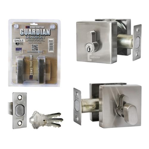 Dsd Group Guardian Deadbolt Square Door Single Cylinder