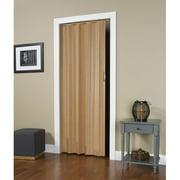 "Homestyles Regent PVC Folding Door Fits 36"" x 80"" Oak Woodgrain Color"