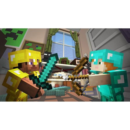 Minecraft: Wii U Edition DLC - Battle Map Pack 4, Nintendo, WIIU, [Digital Download], 0004549666144 - Halloween Minecraft Map