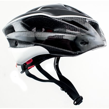 RALEIGH DISCOVERY Carbon Road Bike MTB Helmet Sm/Med 56/58cm Black CPSC
