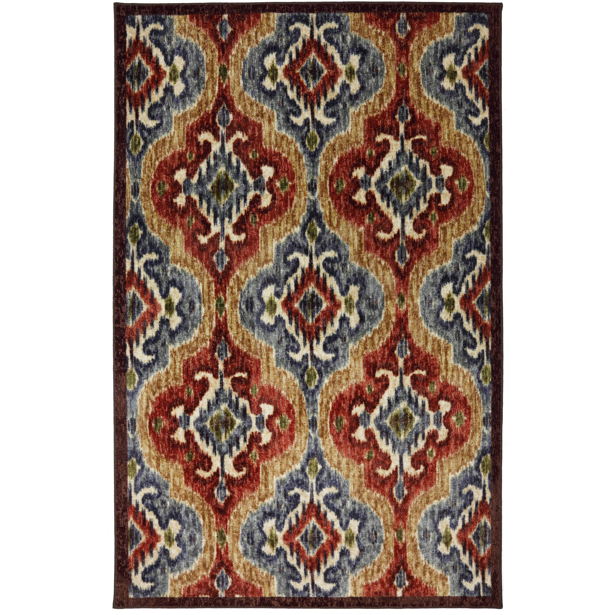 Mohawk Home Primary Ikat Nylon Rug, Primary