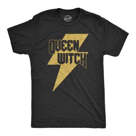 Mens Queen Witch Tshirt Funny Halloween Tee For Guys