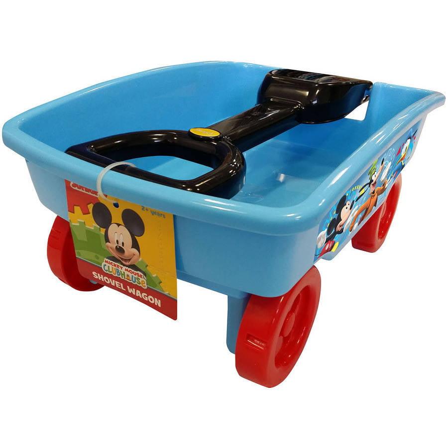 Disney Mickey Mouse Fun Starts Here Shovel Wagon by Jakks Pacific