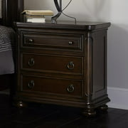 Traditional Nightstand in Brown