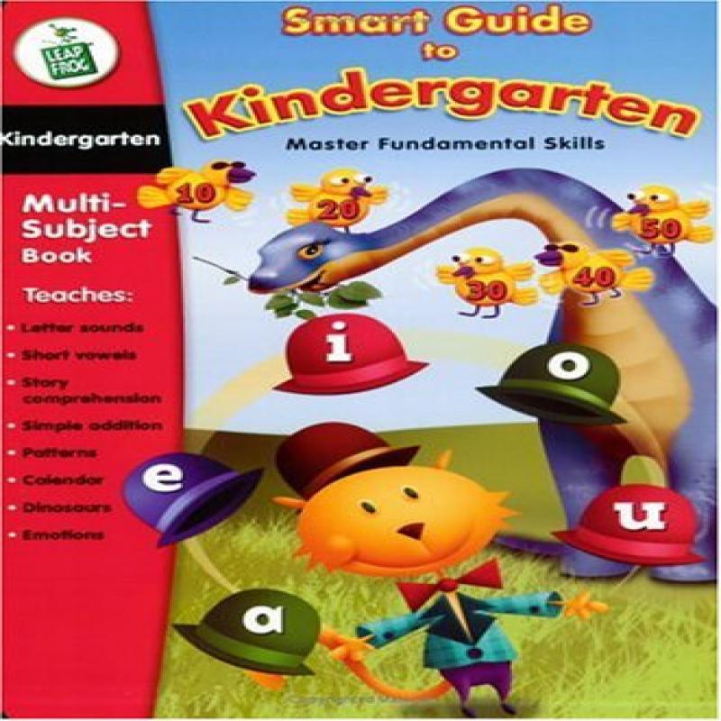 LeapFrog LeapPad Educational Book: Smart Guide to Kindergarten by LeapFrog Enterprises, Inc.