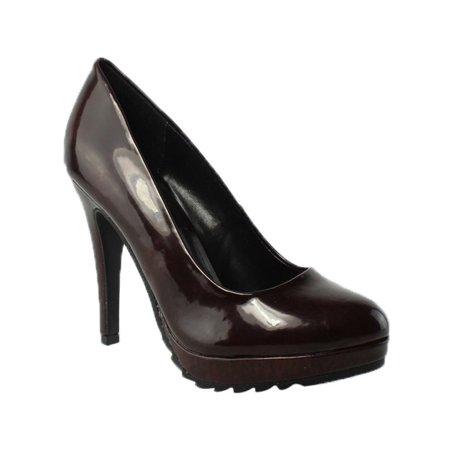 Call It Spring Womens  Purple Pumps, Classic Heels Size 8 New - Purple Pimps