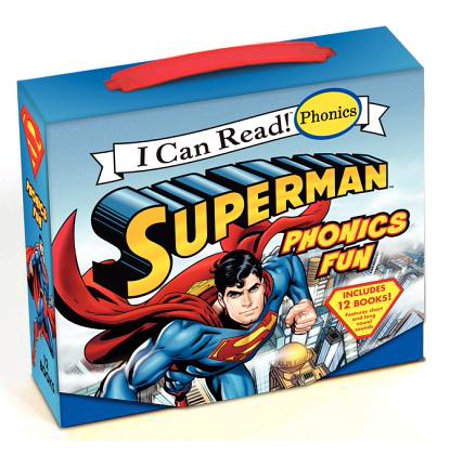 Superman Classic: Superman Phonics Fun (I Spy Phonics Fun)