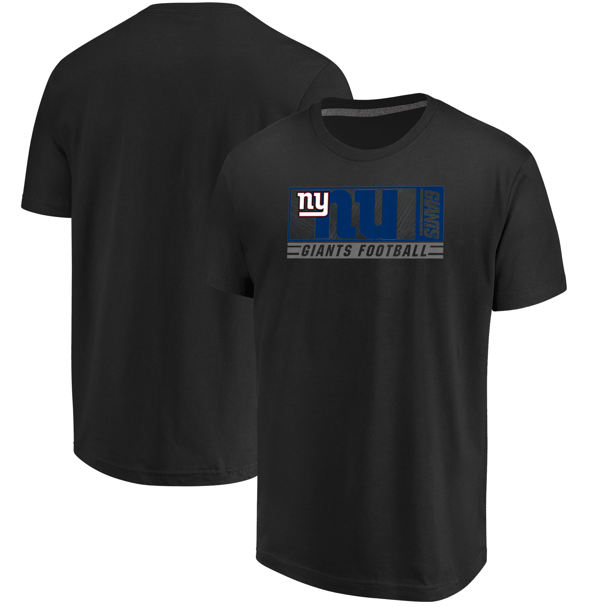 New York Giants Majestic Hook and Ladder T-Shirt - Black
