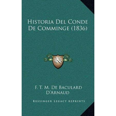 Historia del Conde de Comminge (1836) - image 1 of 1
