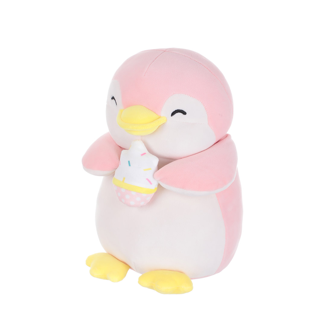 MINISO Cute Penguin Plush Toy Lovely Plushies Stuffed Animal Doll Gift Pizza Character Christmas Pillow for Boy Girls 13 Inches
