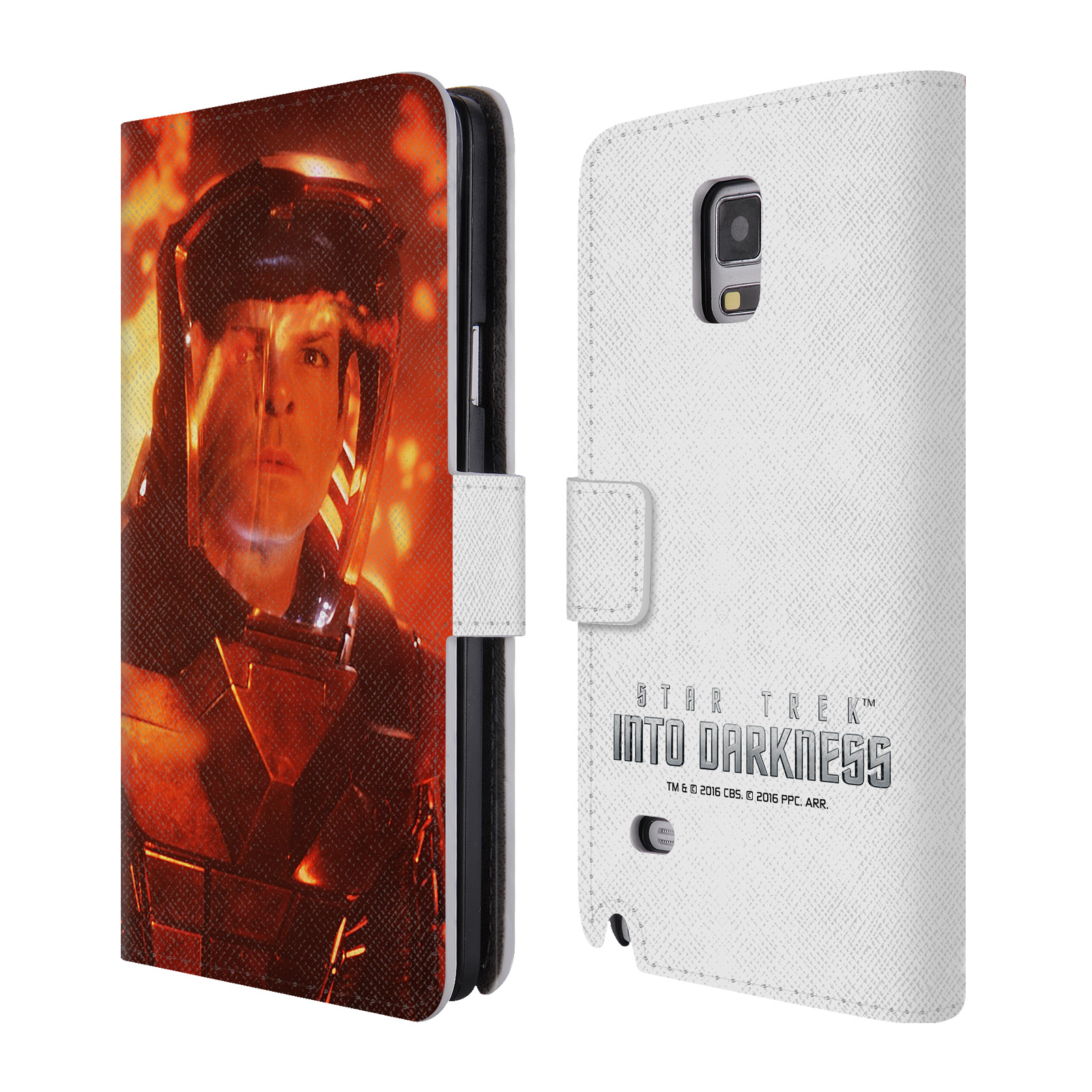 OFFICIAL STAR TREK MOVIE STILLS INTO DARKNESS XII LEATHER BOOK WALLET CASE COVER FOR SAMSUNG PHONES 1