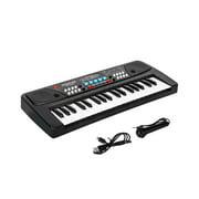 M SANMERSEN Kids Piano Keyboard, Music Pianos with Microphone Electronic Keyb...