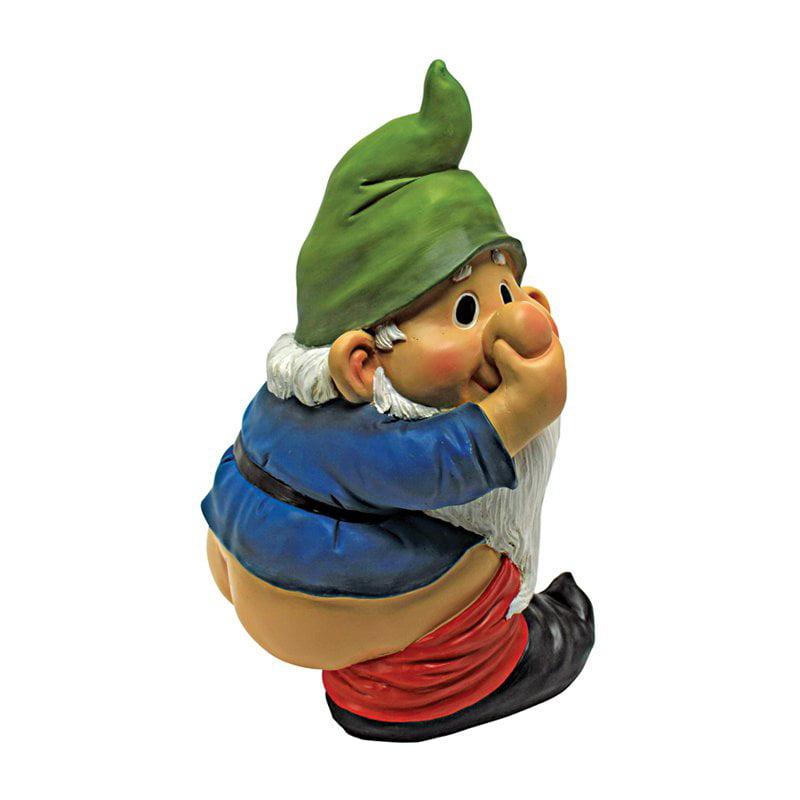Design Toscano Stinky the Garden Gnome Statue by Design Toscano